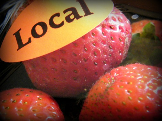 It's berry season! All hail local strawberries...